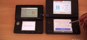 Transfer content between a Nintendo DS and a Nintendo 3DS with System Transfer