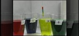 Perform the activity density rainbow experiment