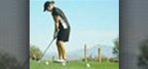 Do the golf ladder chipping drill