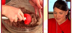 Make chewy chocolate lava cookies