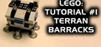 How to Make the Terran barracks from StarCraft with Legos