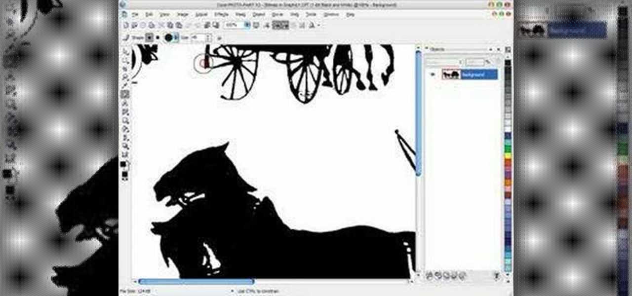 How to Scan clip art into Corel Draw for scroll saw