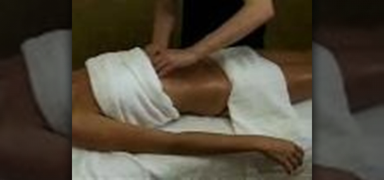 How To Give A Good Relaxing Massage « Massage