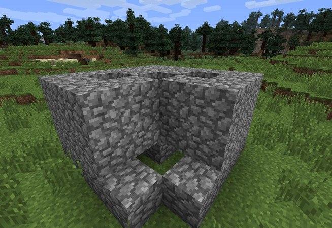 how to make a cobblestone maker in minecraft