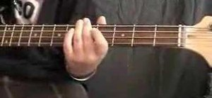 "Play ""Let It Be"" by the Beatles on the bass"
