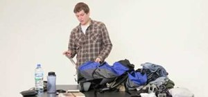 Pack a backpack for Europe as a male traveler