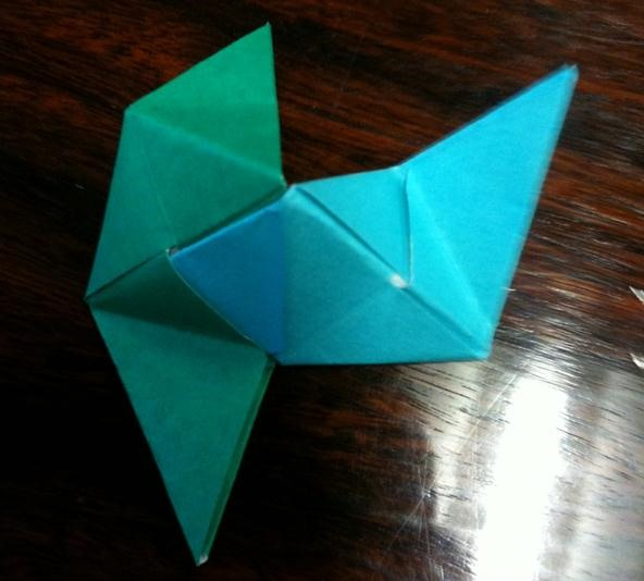 I'm a fan of modular origami. Does anyone have any suggestion ... | 534x592