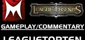 Play the online multiplayer battle arena game League of Legends