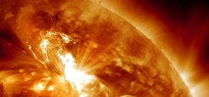 Solar Flare Gives Earth Biggest Radiation Storm in 7 Years; Auroras Likely
