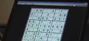 Solve extreme sudoku with Wayne Gould