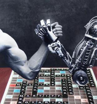Human vs. Computer Scrabble Showdown