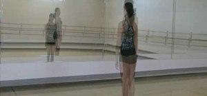 Spot a dancer in ballet as a beginner