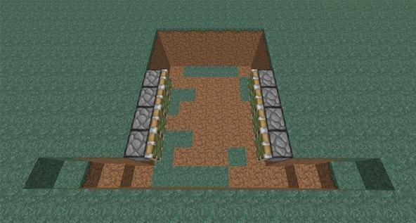 Crush Your Opponents in Minecraft PvP: How to Build an Inescapable Trap with Redstone