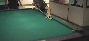 Shoot pool like a pro