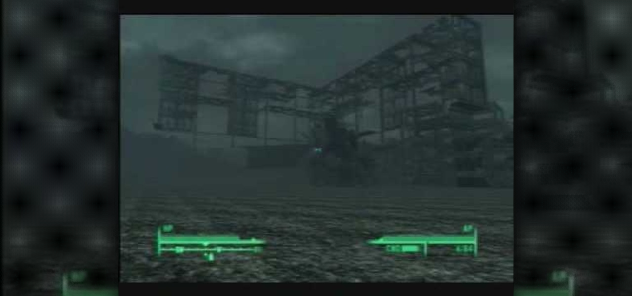 How to Escape Fallout 3\'s Map: Takoma Industrial glitch ...