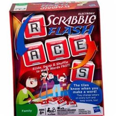 New Game by Hasbro: Electronic SCRABBLE Flash