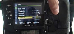Use picture control settings on your Nikon digital SLR