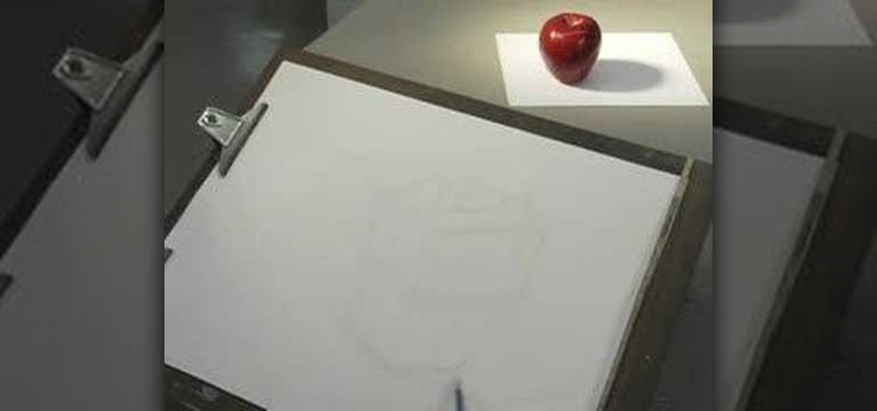 Contour Line Drawing Apple : How to draw an apple using the cross contour drawing