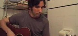 """Play """"Thunder"""" by Boys Like Girls on the guitar"""