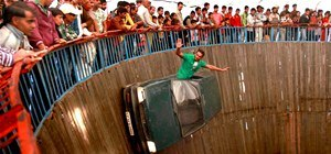 The Wall of Death (Thank God for Centrifugal Force)