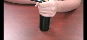 Open a glass bottle with your lighter