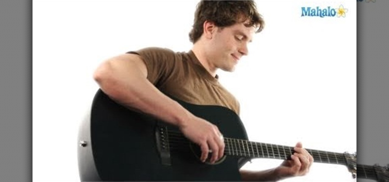 How To Play A G Minor Gm Chord On An Electric Or Acoustic Guitar