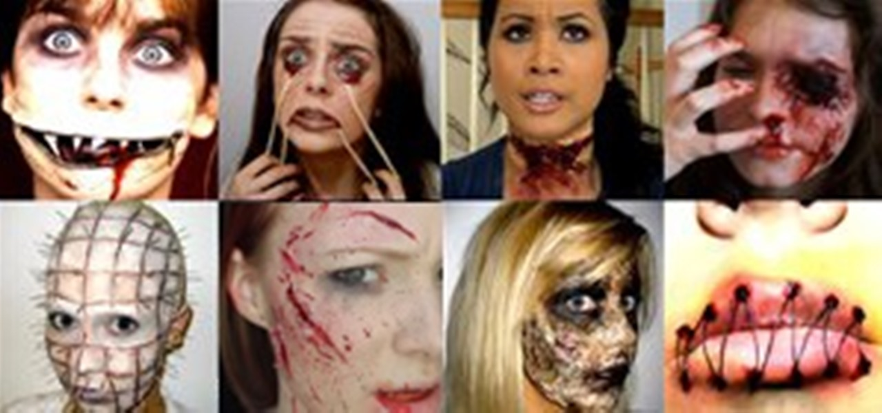 10 Nauseating Halloween Makeup Tutorials