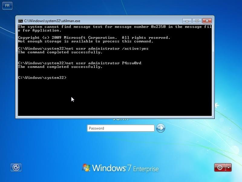 How to Reset Windows Password with a Windows CD or a Linux CD