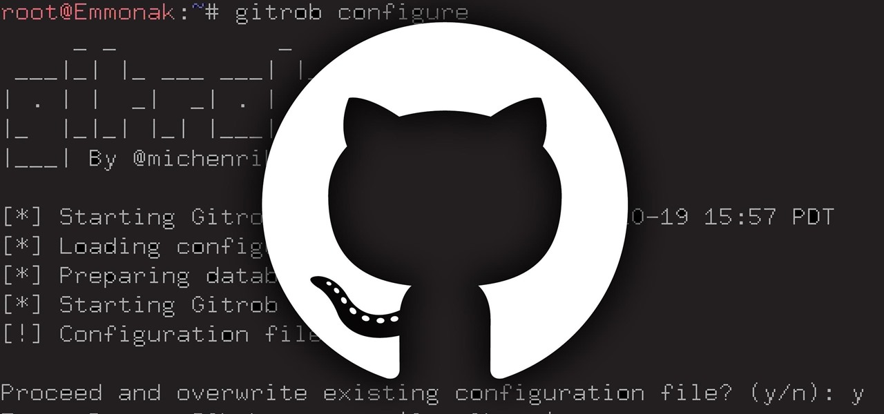 Install Gitrob on Kali Linux to Mine GitHub for Credentials