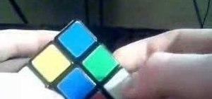 Solve a Rubik's Cube with algorithms
