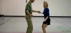 Dance a pull pass lindy hop dance step