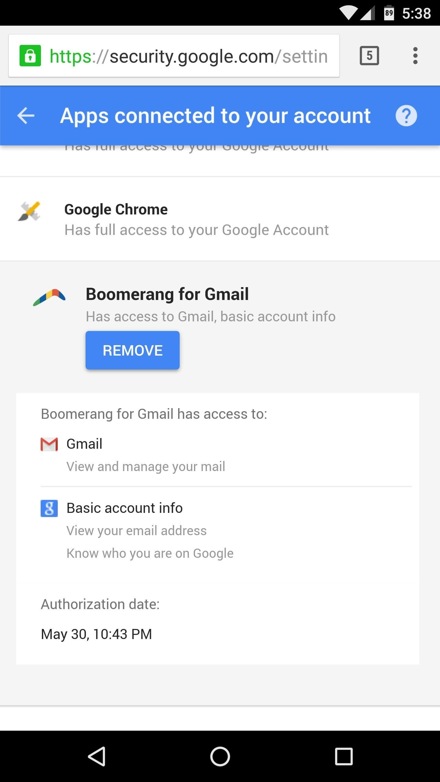 How to Stop Apps from Accessing Your Google Account « Android Hacks