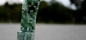 Make a real life exploding Minecraft creeper