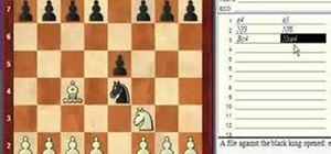 Use chess notation to record your moves