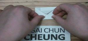 Create a small origami box