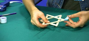 Make a Star of David with popsicle sticks