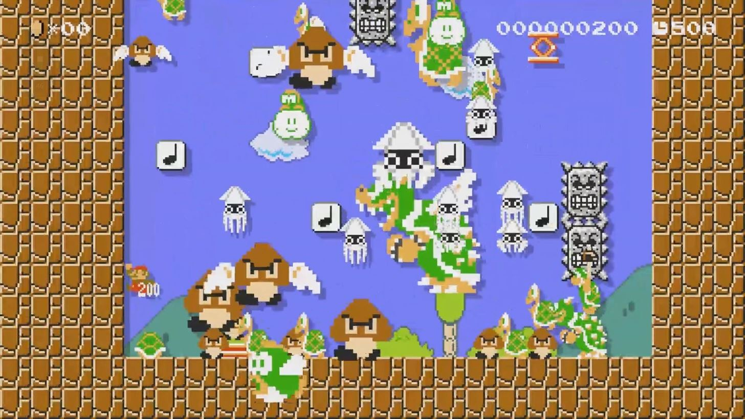 Someone Built a Working Calculator in Mario Maker & It's Awesome