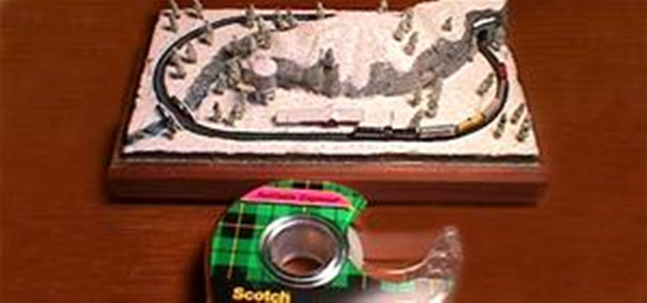 World's Tiniest Electric Train Set « Model Cars, Rockets