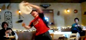 Pizza Acrobat Defies the Laws of Physics