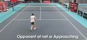 Use the right tactics to win in singles tennis