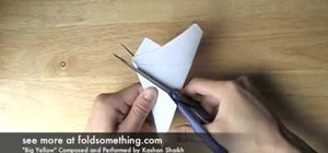 Fold a five-point paper barn star