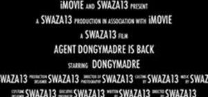 Create a Trailer in iMovie '11