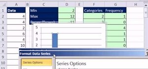 Create a dynamic frequency table & chart in MS Excel