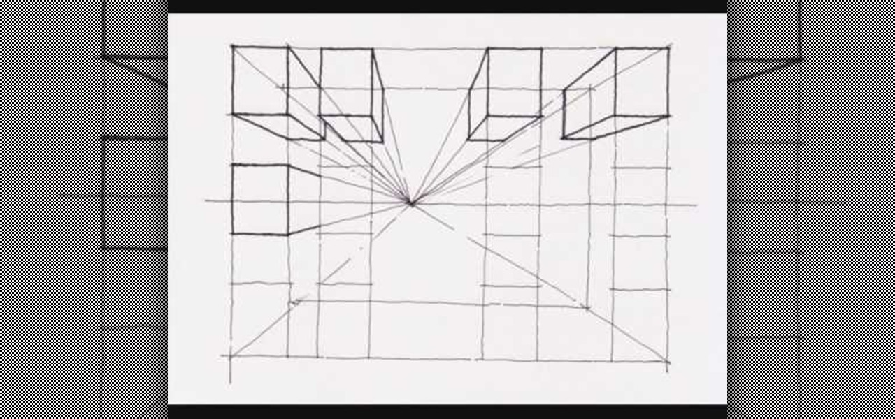 Cool One Point Perspective Drawings How to Create a one point