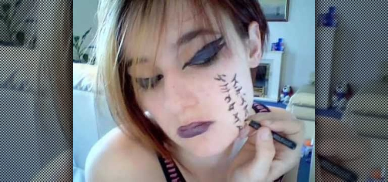 How To Do Visual Kei Face Theater Makeup Makeup Wonderhowto