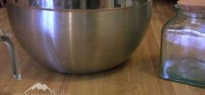 Make herbal bath salts