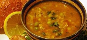 Make a hot & hearty vegetable soup