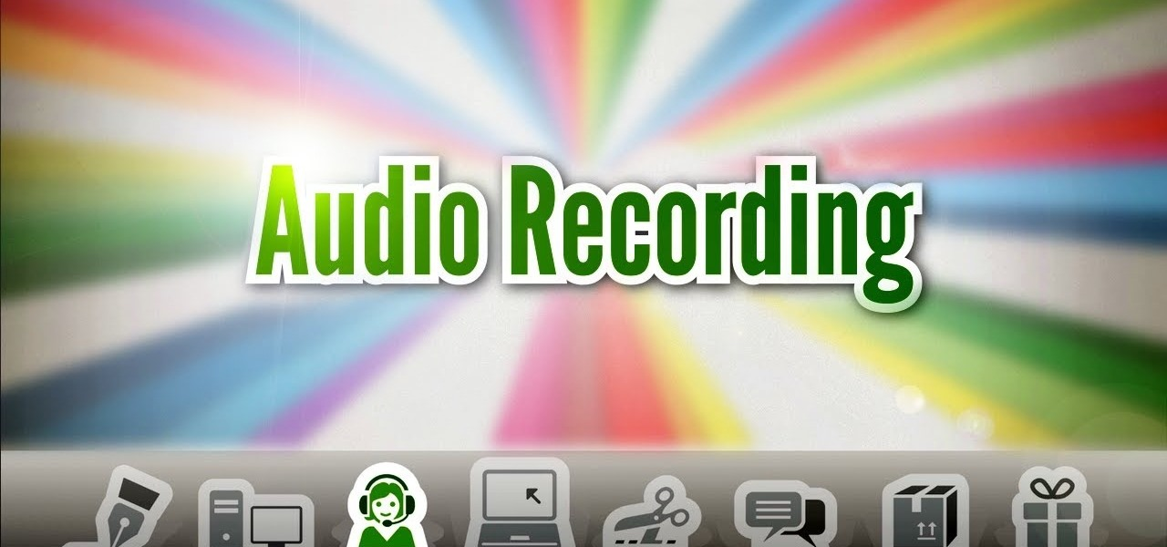 Record Narration for a Screencast Video