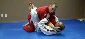 Do a standard Jiu Jitsu neck crank