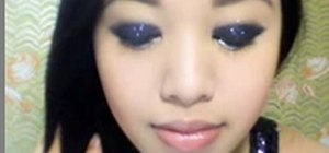 Create party makeup for going out at night